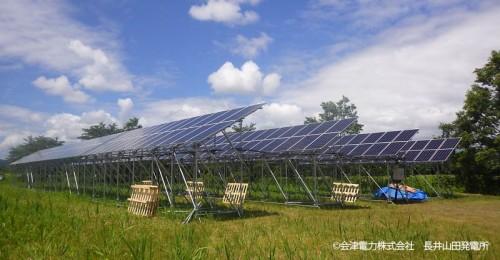 夏、完成間近の長井山田発電所