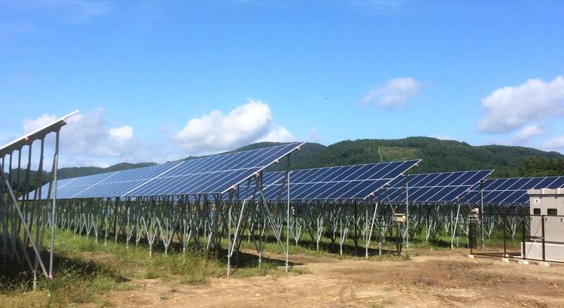 高郷太陽光発電所